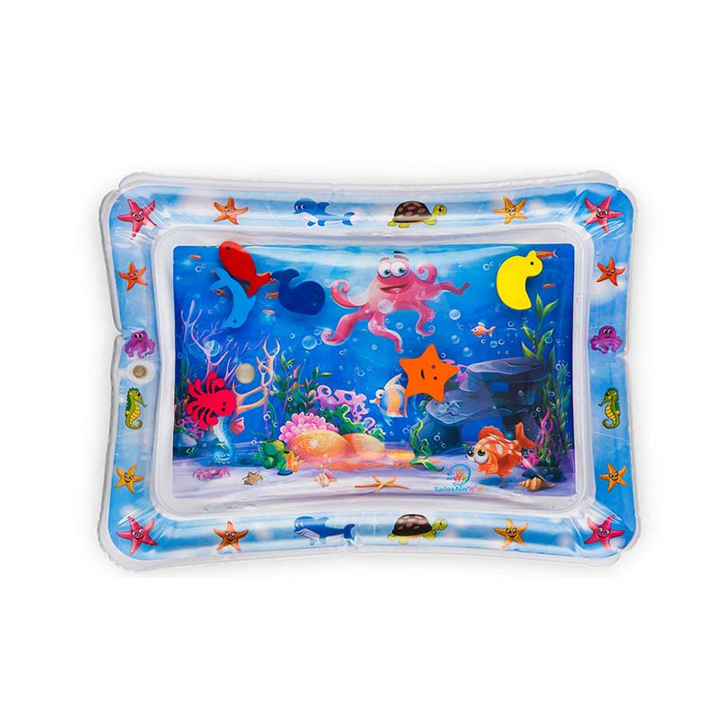 Fashion Baby Infant Ocean Animal Pattern Water Play Mat Summer Outdoor Beach Fun Activity Play Center Water Filled Playmat