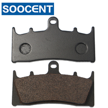 цена на 2 Pairs Motorcycle Front Brake Pads For SUZUKI/ KAWASAKI ZX 6R 7R 9R 12R ZZR 600 GPz 900R ZRX 1100 1200 VN 1500 1600 ZX-6R