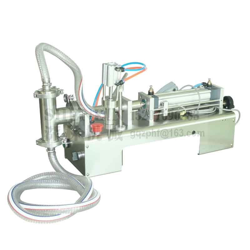 SHENLIN Liquid Filling Machine 10-100ml 110V/220V Water Bottling Machine Piston Filler Food Safe Filling Equipment Cream And Oil