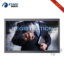 ZB173TC-V59/17.3 Inch 1920x1080p 16:9 Widescreen HDMI VGA Wall-mounted Metal Shell Industrial Touch Monitor LCD Screen Display vga hdmi av tv interface 15 inch metal shell non touch open frame industrial and household use lcd monitor display