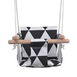 [] Silla colgante para bebés silla interior para bebés asiento de hogar plegable de lona Swi