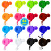 24/64Pcs Worm On A String Fuzzy Trick WormToy Party Favors Bag Fillers Christmas Stocking Stuffer Gifts Assorted Colors for Kids