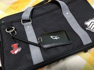 Сумка аниме Persona 5 P5 Shujin Gakuen, настоящая школьная сумка JK, форма, сумки на плечо, Akira Kurusu, для костюмированной вечеринки