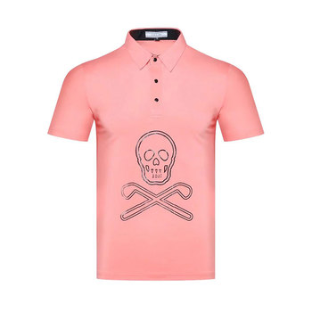 Lato odzież golfowa męska T-shirt do golfa zaznacz i LONA koszulka z krótkim rękawem szybkoschnący oddychająca koszulka wielka wyprzedaż darmowa wysyłka tanie i dobre opinie Poliester spandex Anty-pilling Oddychające Szybkie suche Koszule Pasuje prawda na wymiar weź swój normalny rozmiar Suknem
