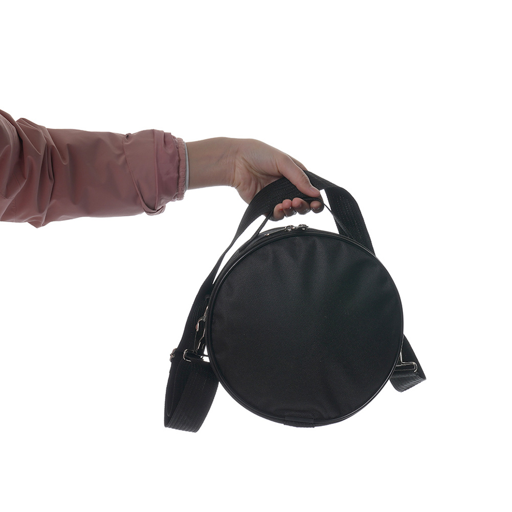 Portable 5.5/6 inch Tongue Drum Shoulder Bag Hand Pan Tank Drum Carrying Pouch Outside Pockets Percussion Parts
