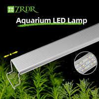 ZRDR Aquarium Plant grow LED light A series mini nano brief aquarium water plant fish tank metal bracket sunrise sunset