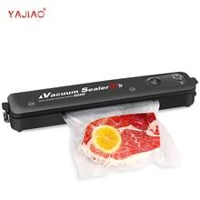 YAJIAO 2021 nouveau automatique alimentaire Sous Vide Machine d'emballage ménage Sous Vide alimentaire scellant 220V/110V pour Sous Vide et stockage de nourriture