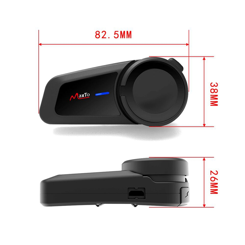1000M Motorrad 6 Fahrer Gruppe Reden System BT mit FM Radio Helm Neue M2 Intercom Headsets Helm Bluetooth Sprech