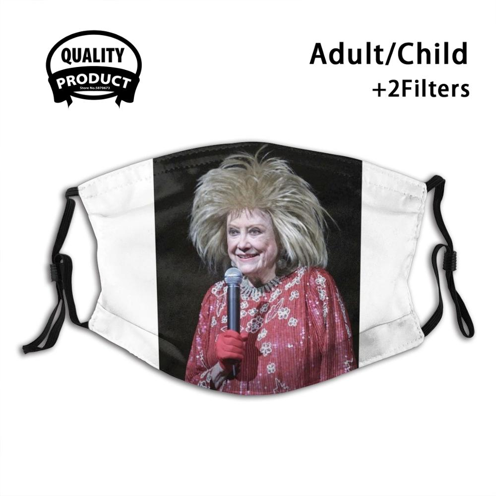 Маска для лица от пыли Phyllis Diller, моющаяся многоразовая маска с фильтром для фотографий
