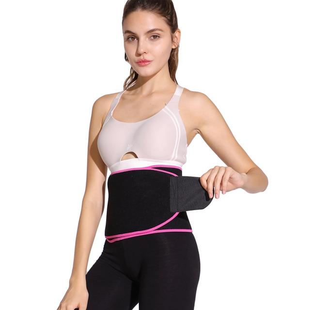 Sports Fitness Belt Waist Trimmer Sweat Slimming Band Breathable Gym Training Belt 3