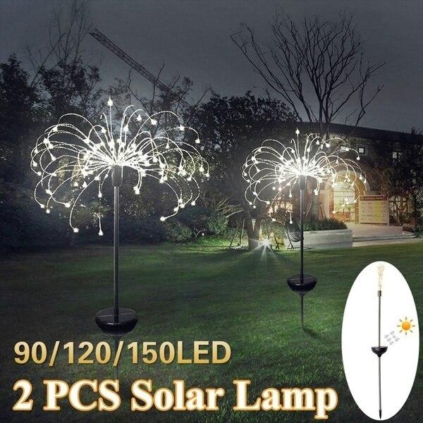 Solar Powered Dandelion Lamp