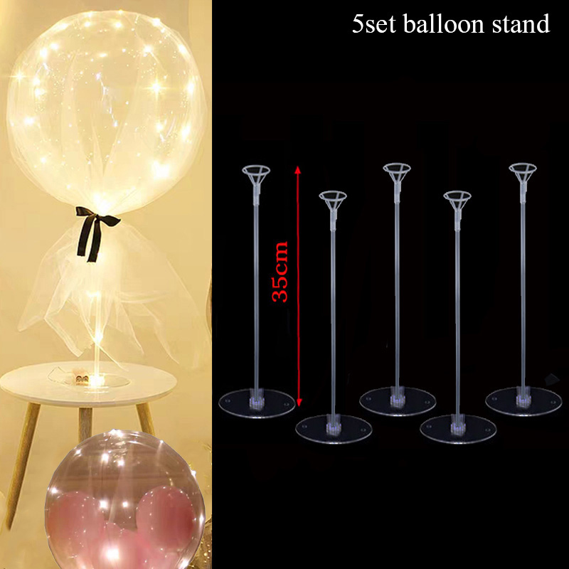 Birthday Party Balloons Stand Balloon Holder Column Confetti Ballon Birthday Party Decorations Kids Adult Wedding Christmas ball