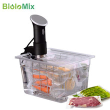 Stainless Steel Sous Vide Rack and 11L Sous Vide Cooker Containers Sets Detachable Dividers Separator for Immersion Circulators