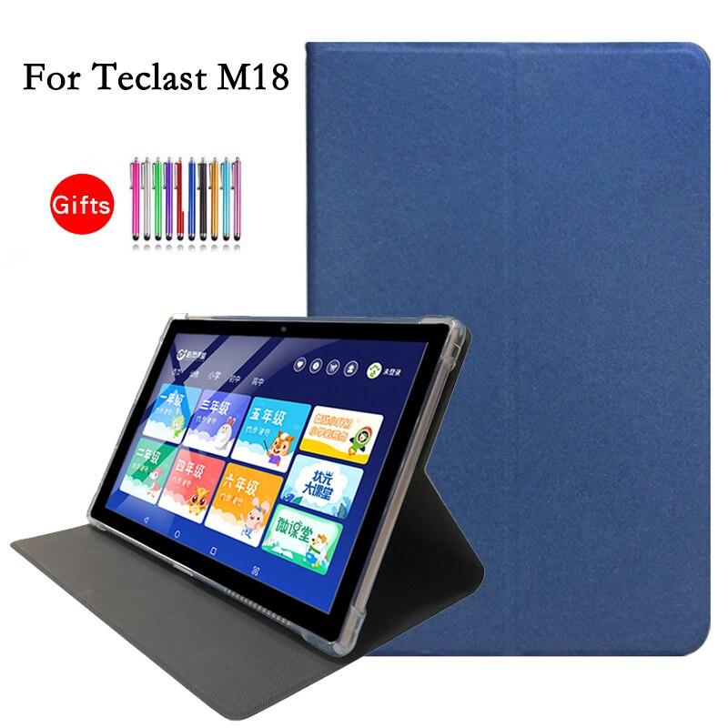 Новейший чехол из искусственной кожи для Teclast M18 10,8 дюймов планшетный ПК, защитный чехол, чехол для Teclast M18 + стилус