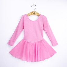 Girls Dance Ballet Dress Children Gymnastics Leotard Dresses Dance Costumes Skating Bodysuit Dancewear Kids Balleriana Clothes