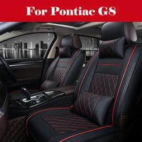 Luxury PU Leather Auto Car Seat Covers 5 Seats car seat cover accessories covers for vehicle seat For Pontiac G8