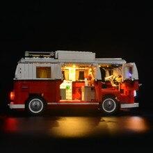 Jeu de lumières pour créateur, Compatible avec Kit déclairage Led et 10220, pour Volkswagen T1, pour camping car (modèle non inclus), 21001 améliorée