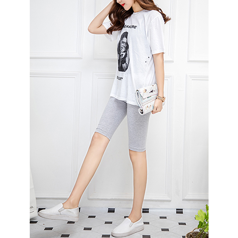 H4f9bd8d7b55144368d1ebc856571abe48 - 95% cotton 5% spandex women slimming running shorts skinny very soft highly stretchy girl short M30292