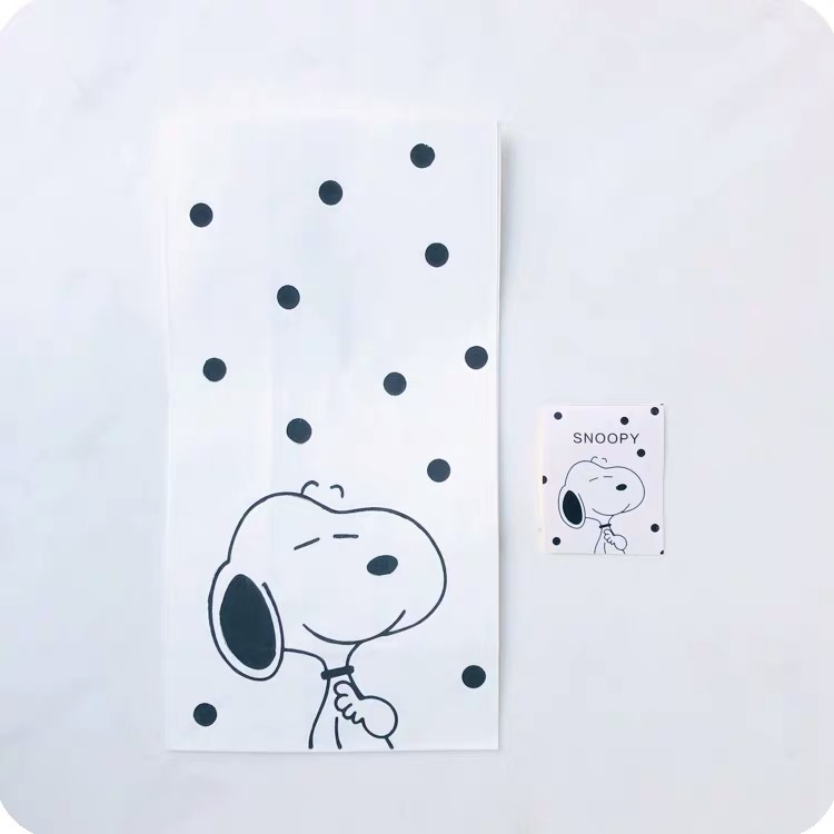2pcs Peanuts Rogue Dog Blank Mini Paper Bags Kraft Seal Gift Packing Wedding Party Invitation Greeting Cards Bags Storage Bags