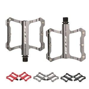 GUB алюминиевые велосипедные BMX велосипедные Плоские Педали на платформе педали для шоссейного велосипеда велосипедные большие ножные конт...