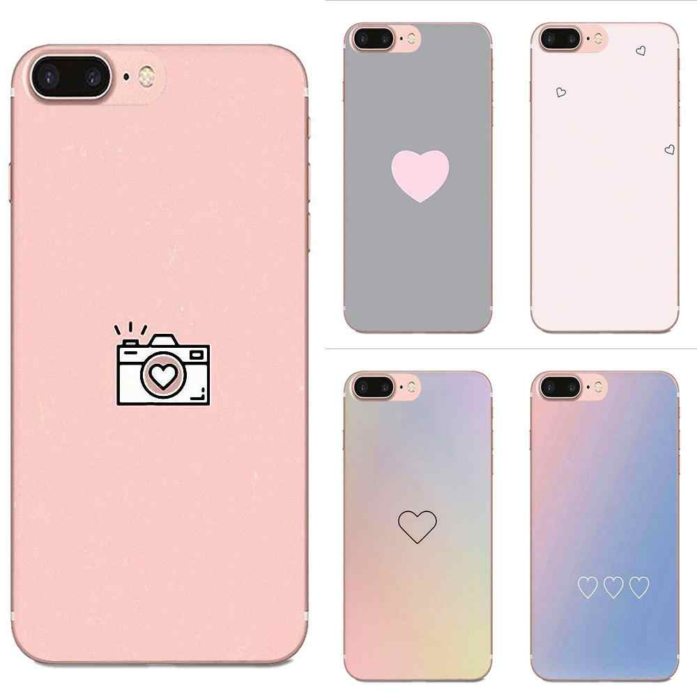 Soft Best Cases Sweet Pink For HTC Desire 530 626 628 630 816 820 830 One A9 M7 M8 M9 M10 E9 U11 U12 Life Plus