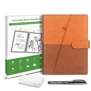 Image 5 - NEWYES Прямая поставка стираемый блокнот бумажная кожа многоразовый умный блокнот Облачное хранилище флэш память
