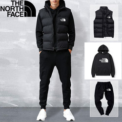 The North Face high-quality top pants suit sleeves classic men's clothing sports three-piece casual luxury designer