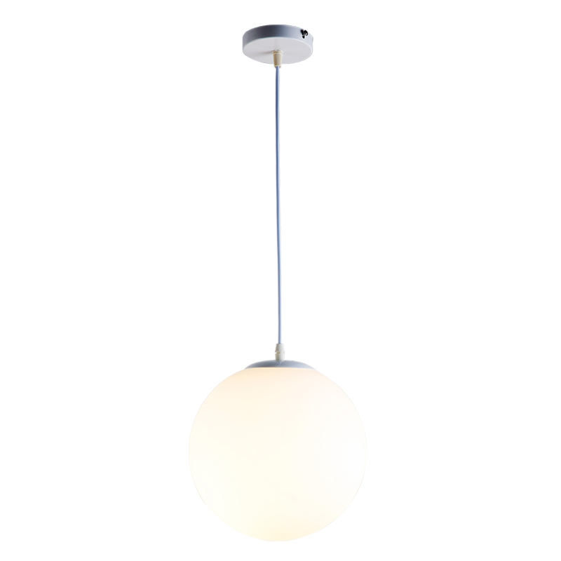 Modern White Glass Ball Pendant Light Simple Modern 3head 5head Combination Pendant Lamp Industrial Decor Home Lighting LED Lamp