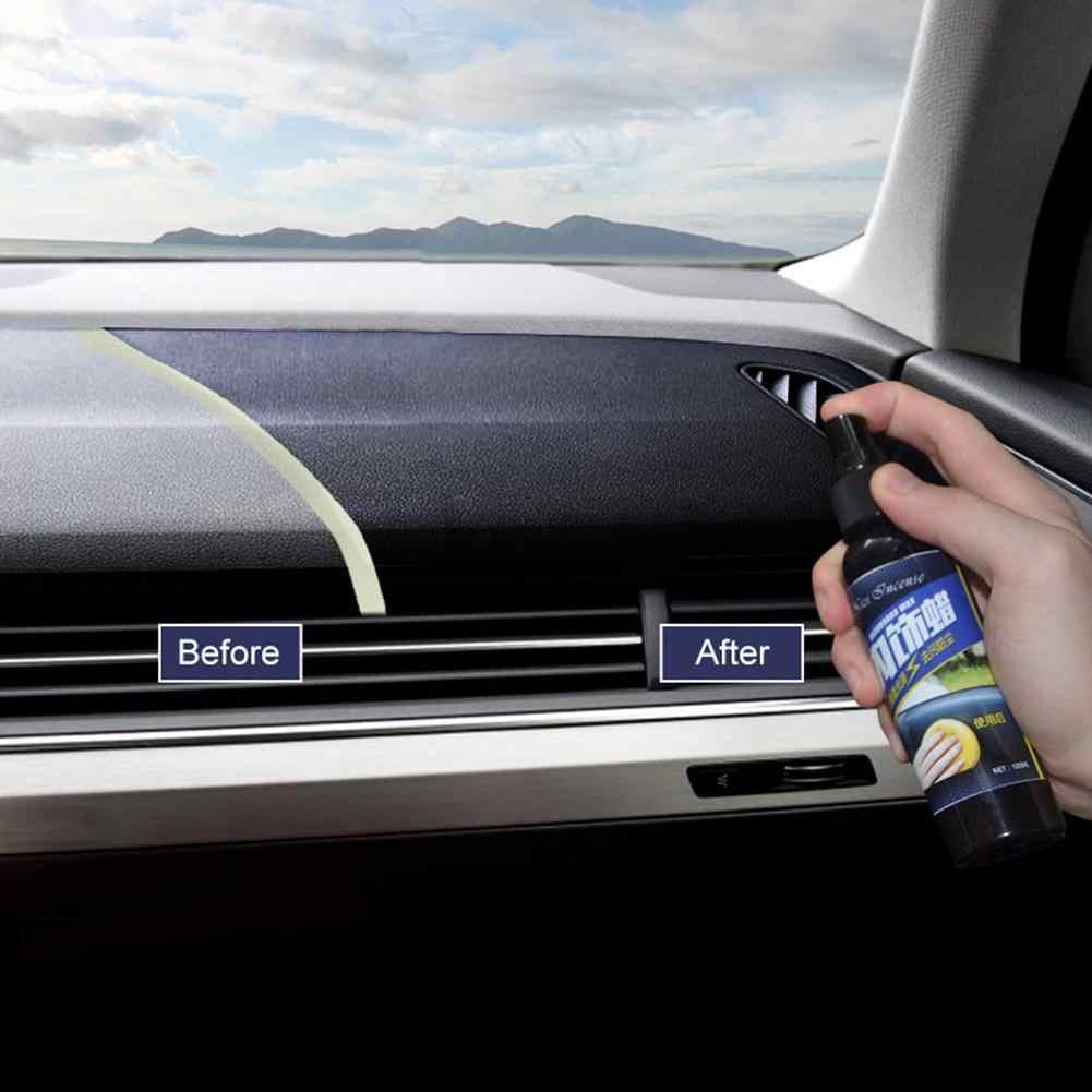30ML Car Vehicle Wax Interior Restorer Dashboard Seat Glossing Maintenance Tool Restorer Dashboard New car Acessories