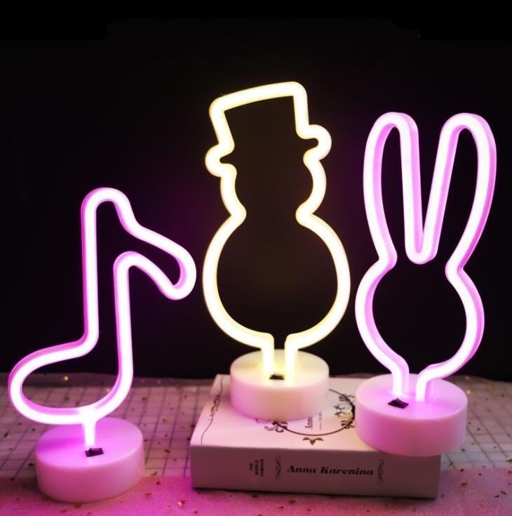 Ins Neon Shape Nightlight Creative Nightlight