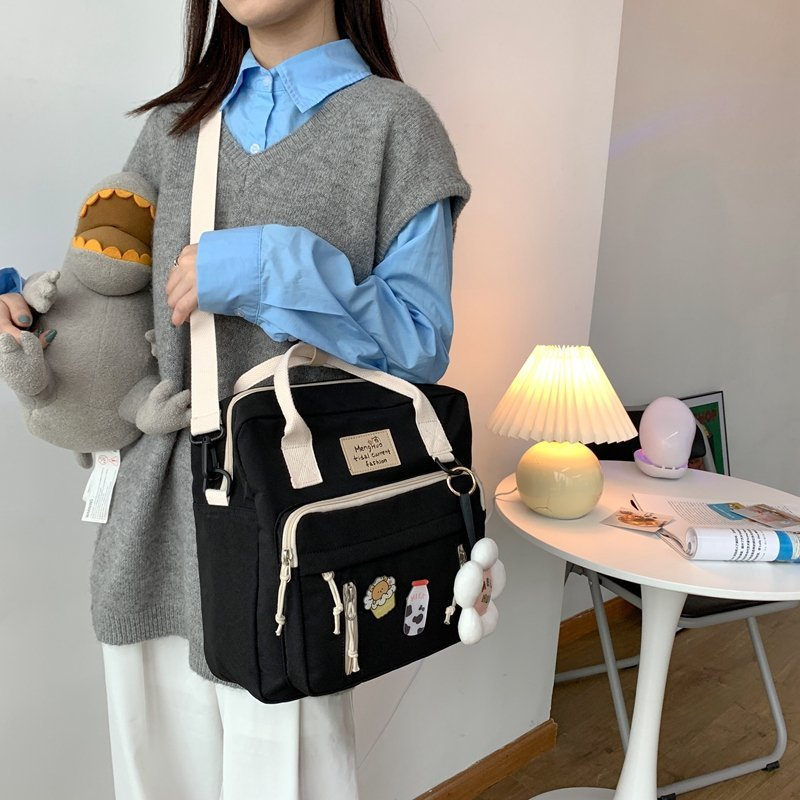 Kawaii Canvas Style Harajuku Backpack