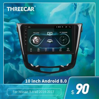 10.2 Android 8.1 Quad Core 10.1 Inch Car Radio GPS Navi Multimedia Player For 2014 2015 2016 2017 Nissan QashQai X-Trail image