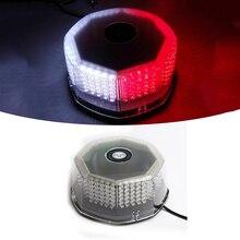 M & C 1PC 240 LED נורות גג רכב Strobe אזהרת אורות מגנטי רכוב מהבהב חירום משואת אות מנורה