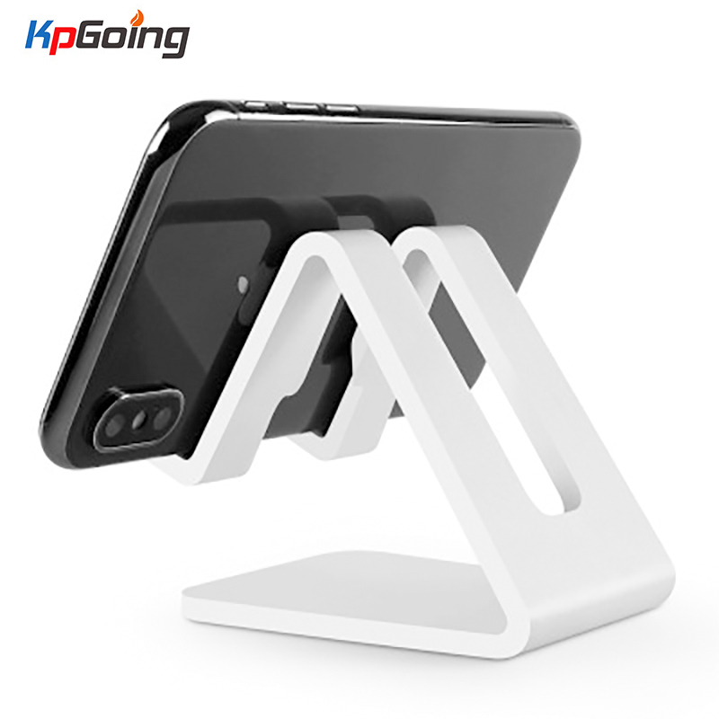 Universal Aluminium Stand Desk Holder For Xiaomi Huawei Mobile Phone Holder For iPhone Metal Tablet Stand For ipad Black Gold