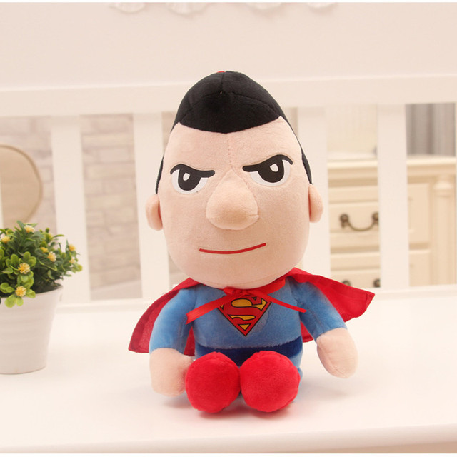 27cm Man Spiderman Plush Toys Movie Dolls Marvel Avengers Soft Stuffed Hero Captain America Iron Christmas Gifts for Kids Disney 3