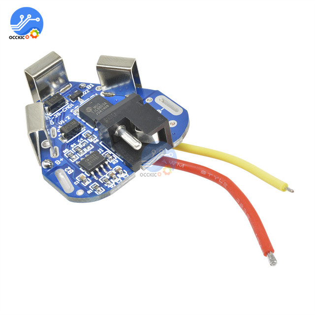 BMS 3S 12.6V 6A 18650 Li-ion Lithium Battery Charger Protection Board Power Bank Balancer Equalizer for Motor Drill 5