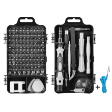 DIY 110 in 1 Precision Driver Set Repair Tool Multifunctional Driver With Magnet Abrasion Resistant