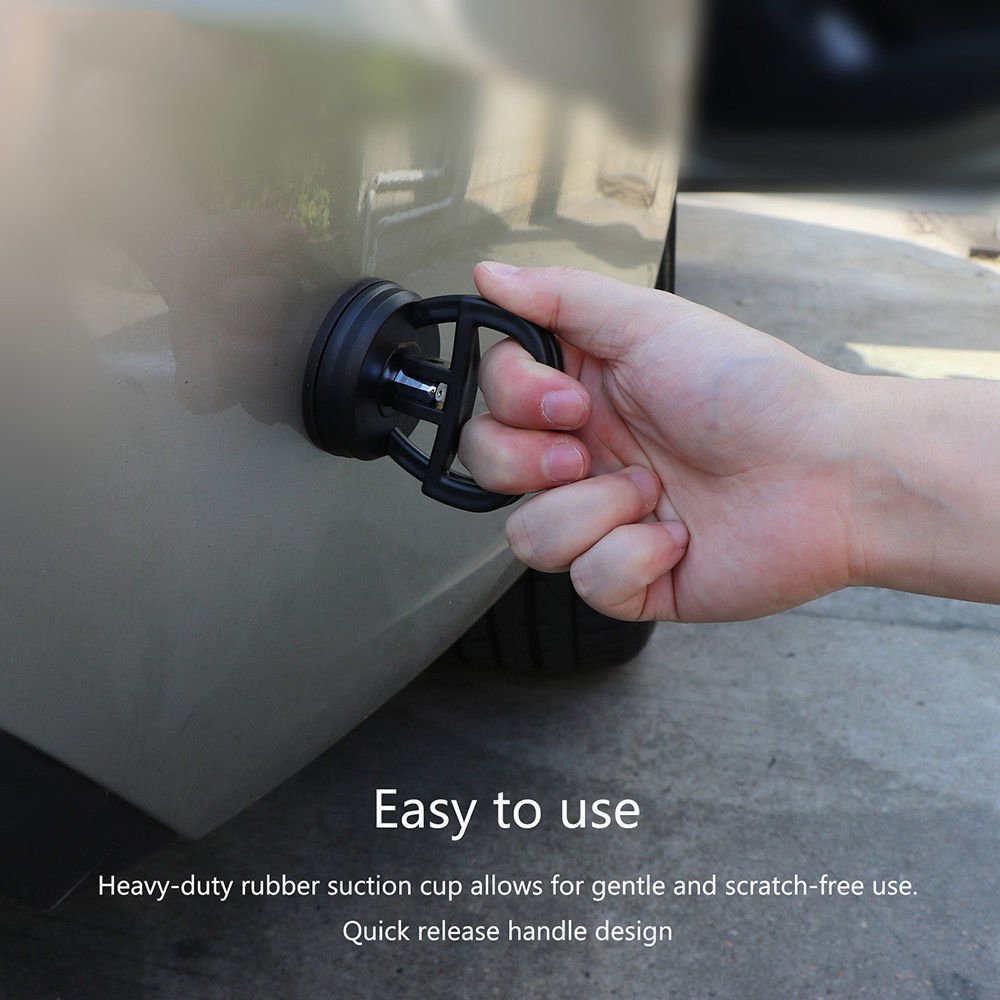 Mini Auto Dent Rimozione Puller Auto Body Dent Strumenti per La Rimozione di Forte Tazza di Aspirazione Kit di Riparazione Auto In Metallo In Vetro Sollevatore
