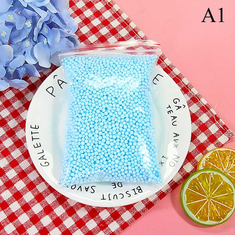 Satu Paket Salju Bola Lendir Aksesoris Busa Aditif Slimes Manik-manik Semua untuk Slime Busa Pengisi Hiasan Clay DIY Lizun Kerajinan perlengkapan