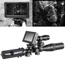 850nm Infrared LEDs IR Night Vision Scope 4.3 inch Cameras Outdoor 0130 Waterproof Wildlife Trap Cameras