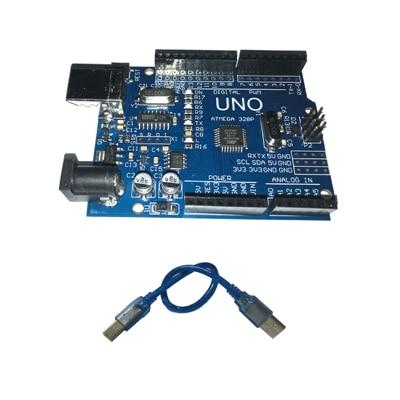 10 stücke Ein satz UNO R3 (CH340G) MEGA328P für Arduino UNO R3 ATMEGA328P-AU Entwicklung bord
