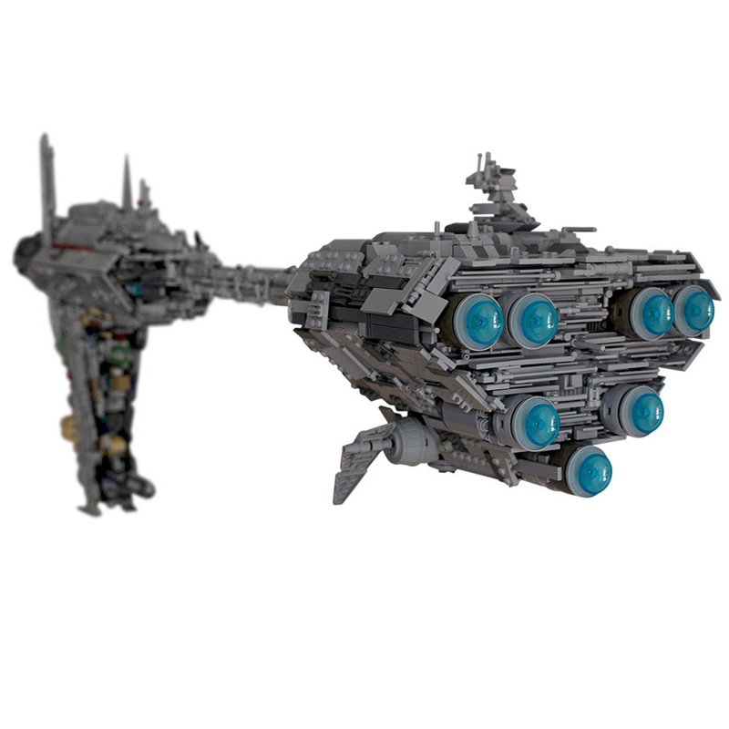 The MOC 5083 UCS Nebulon-B Medical Frigate Model Compatible Legoing Star Toys Wars Building Blocks Bricks As Kids Christmas Gift 1