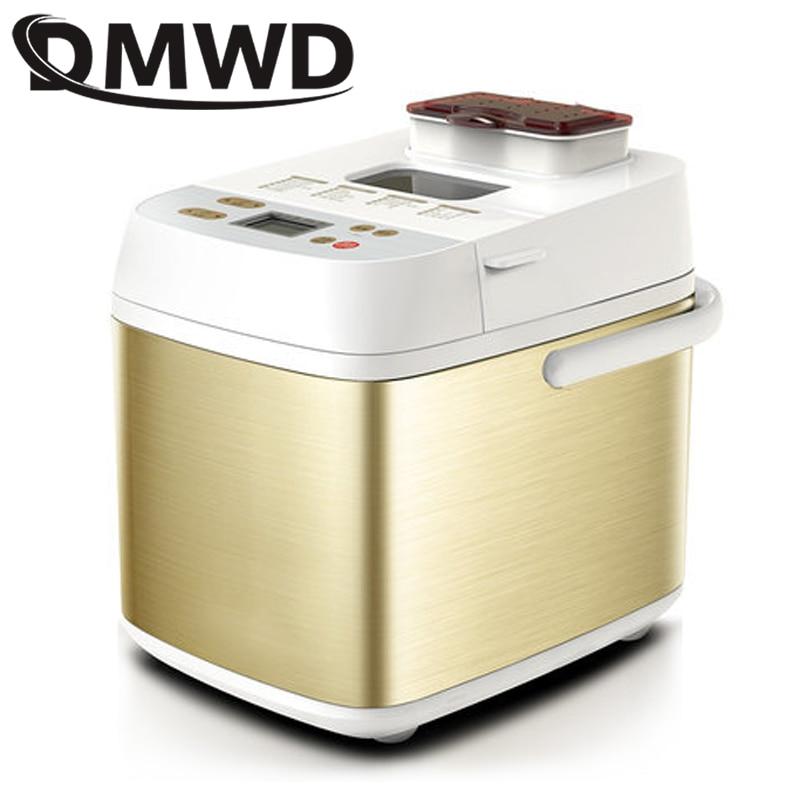 DMWD-Mini Machine à pain multifonction automatique, 450W, appareil de cuisson à pain Intelligent, facile à utiliser