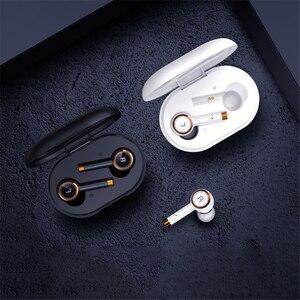 Tws Bluetooth наушники 8D стерео беспроводные наушники шумоподавление гарнитуры наушники отпечаток пальца сенсорный наушник с микрофоном