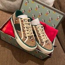 GG – chaussures en toile brodées pour femmes, nouvelle collection de chaussures de loisirs et de sport pour couples, joker