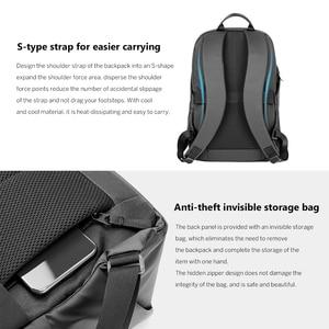 Image 4 - Original Xiaomi Simple Casual Backpack Large Capacity Travel Backpack Waterproof 15.6 inch Laptop  ice feeling fabric