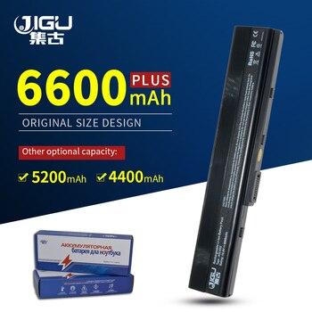 JIGU 6 komórki bateria do laptopa asus A32-K52 K42 K52 A52 A52F A41-K52 A42-K52 A52J A31-K52