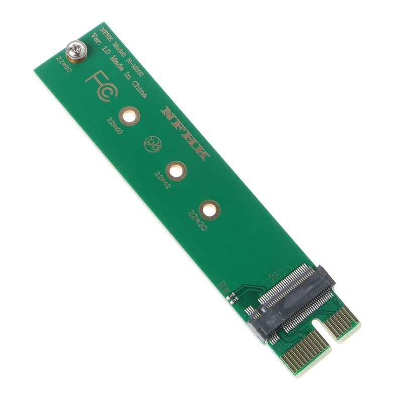 PCIe PCI-E 3.0 1x x1 do NGFF m-key M klucz M.2 NVME AHCI SSD pionowa karta adaptera do XP941 SM951 PM951 960 EVO SSD