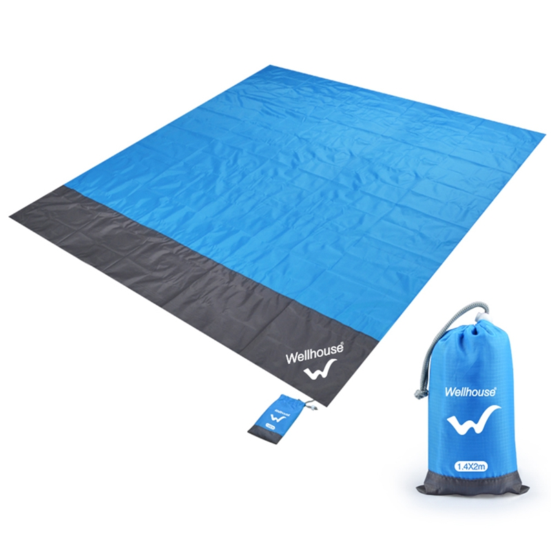 Wellhouse Waterproof Beach Blanket Outdoor Portable Picnic Mat Camping Ground Mat Mattress Outdoor Camping Picnic Mat Blanket