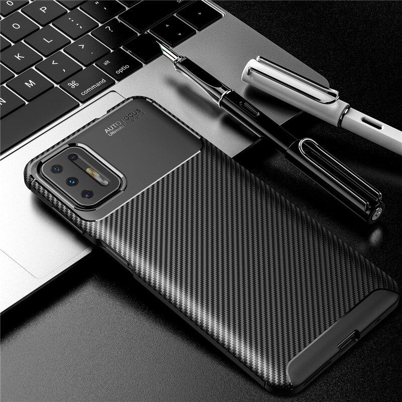 Carbon Fiber Case For Motorola Moto G9 Plus Case G8 Power Lite Plus Play Cover Soft Back Phone Bumper For Moto G9 Plus Funda